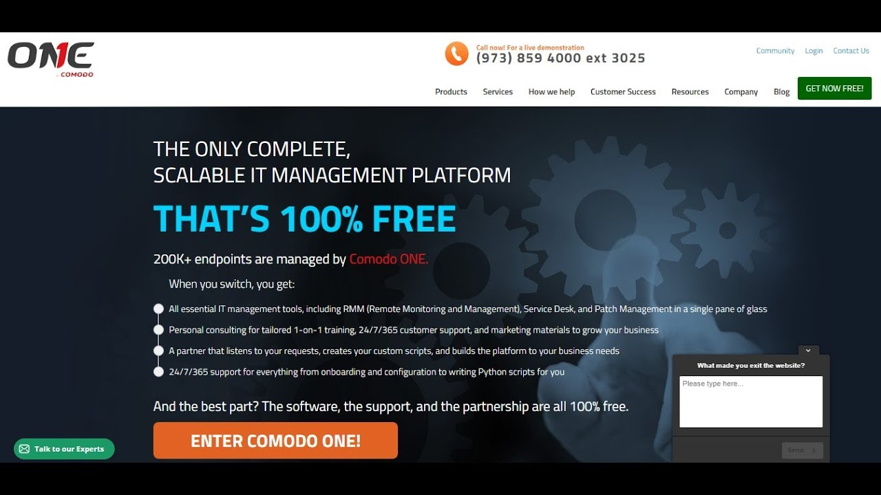 Demo 101: Comodo One Overview