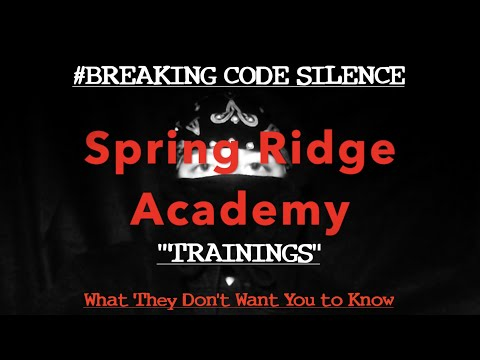 Spring Ridge Academy - Basics of Trainings: What They Don't Want You to Know