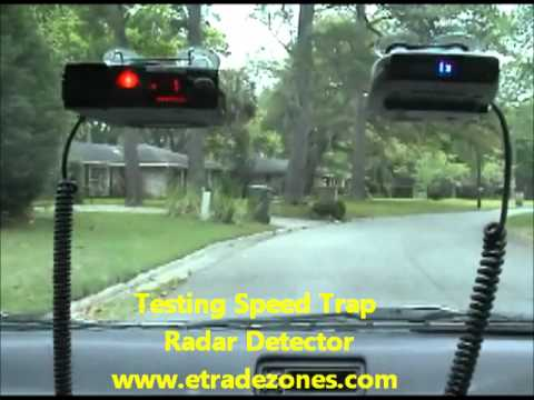 Speed trap radar detector testing