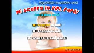 Mi scappa la pipì papà - Cantata Karaoke Version - LaTVdeiBambini