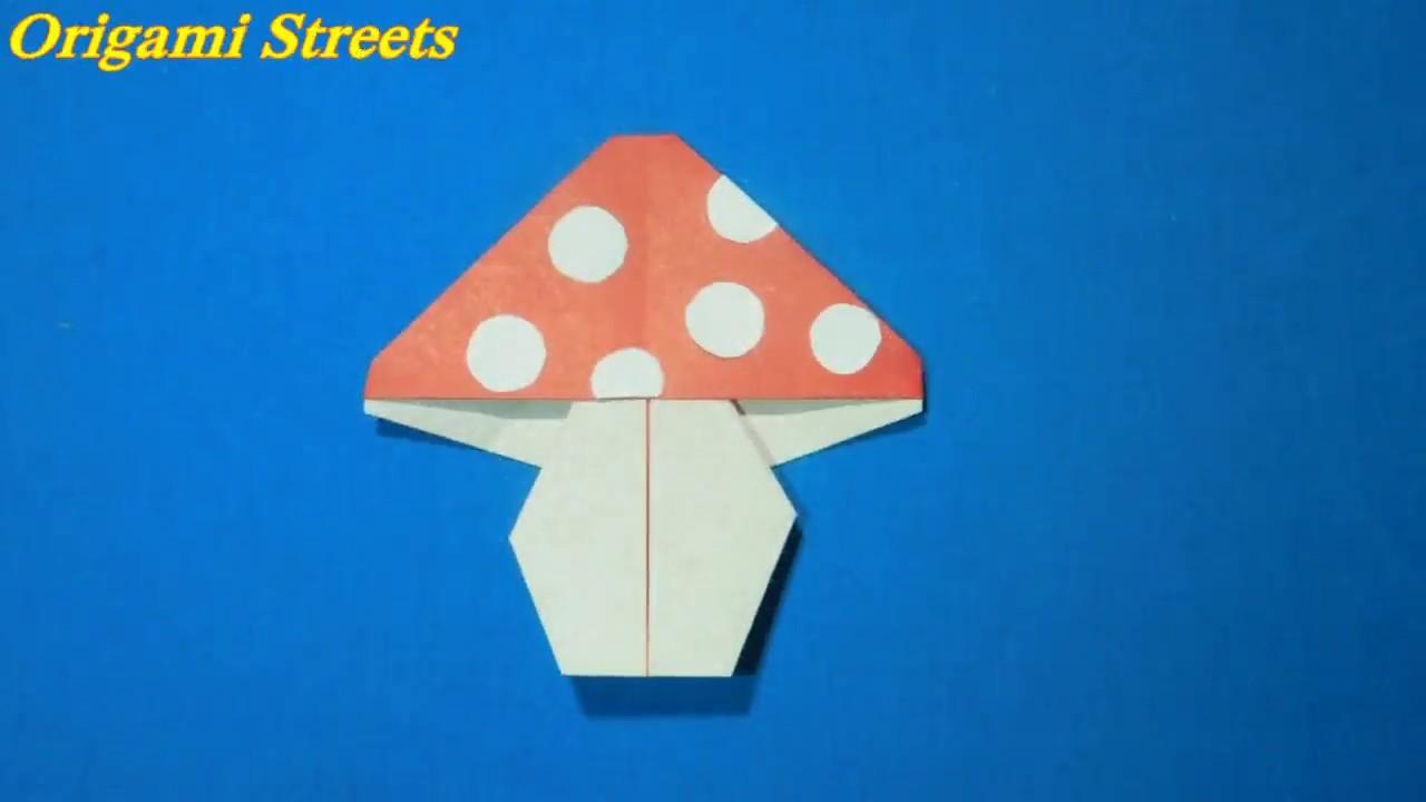 Оригами гриб мухомор схема фото 159