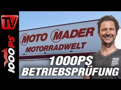 1000PS Betriebsprüfung Schweiz- Motorradgeschäft oder Entertainmentbetrieb - Moto Mader