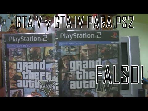 GTA V y GTA IV PARA PS2 ¿EXISTEN?