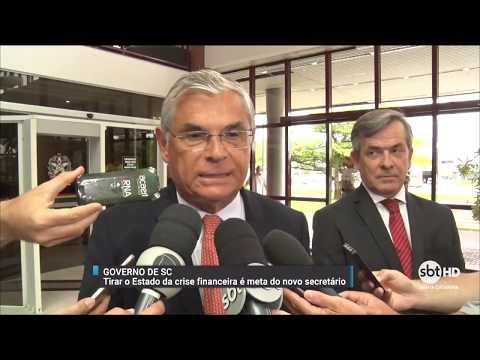Paulo Eli assume Secretaria de Estado da Fazenda de SC