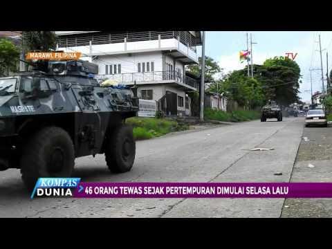 Militer Filipina Rebut Distrik yang Dikuasai ISIS