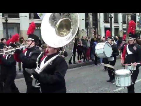 Champs Elysées Parade  2016 Olivet College