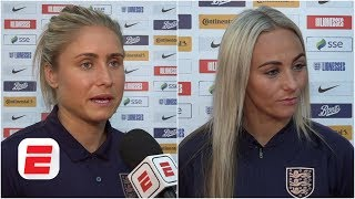 Steph Houghton & Toni Duggan talk England's X-factor and World Cup hype   2019 Women's World Cup
