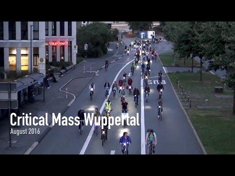 Critical Mass Wuppertal - August 2016