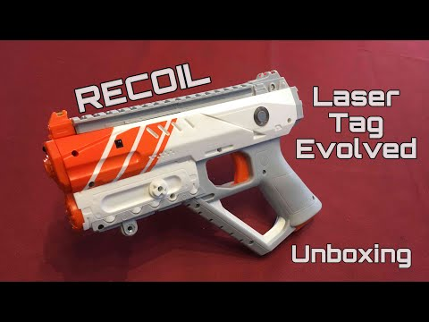 Unboxing Haul! RECOIL Blasters (Next Level Laser Tag)