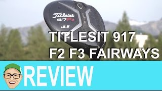 Titleist 917 F2 F3 Fairways