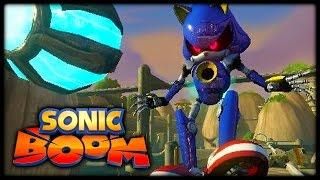 Sonic Boom (Wii U) - 10 New Screenshots! (Metal Sonic, Shadow, and More!)