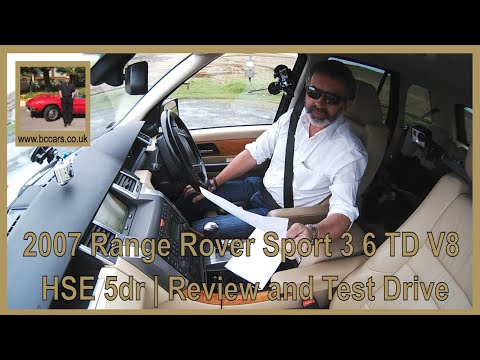 Review and Virtual Video Test Drive  In Our 2007 Range Rover
