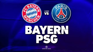 🔴 BAYERN - PSG // CHAMPIONS LEAGUE // ClubHouse ( paris vs bayern )