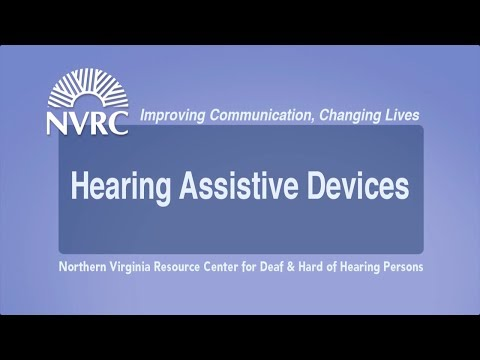 Hearing Assistive Devices