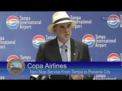 Copa Airlines Press Conference