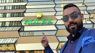 Inside The World's BIGGEST Rolex Store !!!