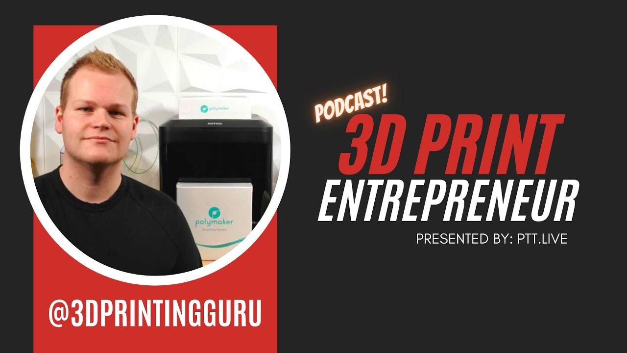 Master Micro-Content w/ @3DPrintingGuru | 3D Print Entrepreneur (S2:E6)