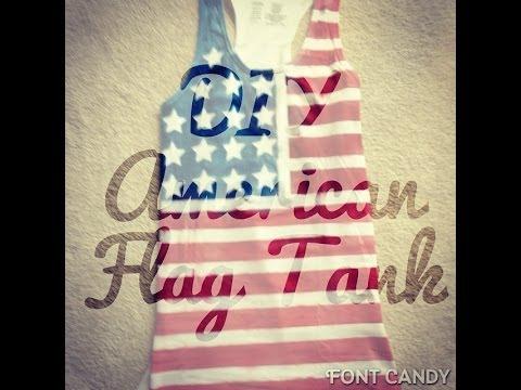 DIY American Flag Tank