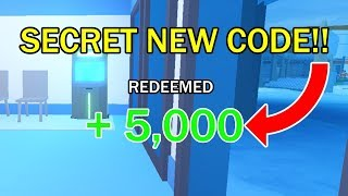 New *Secret* Code In Roblox Jailbreak (16th January 2019)