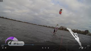 Windfoiling at AALSMEER Fone