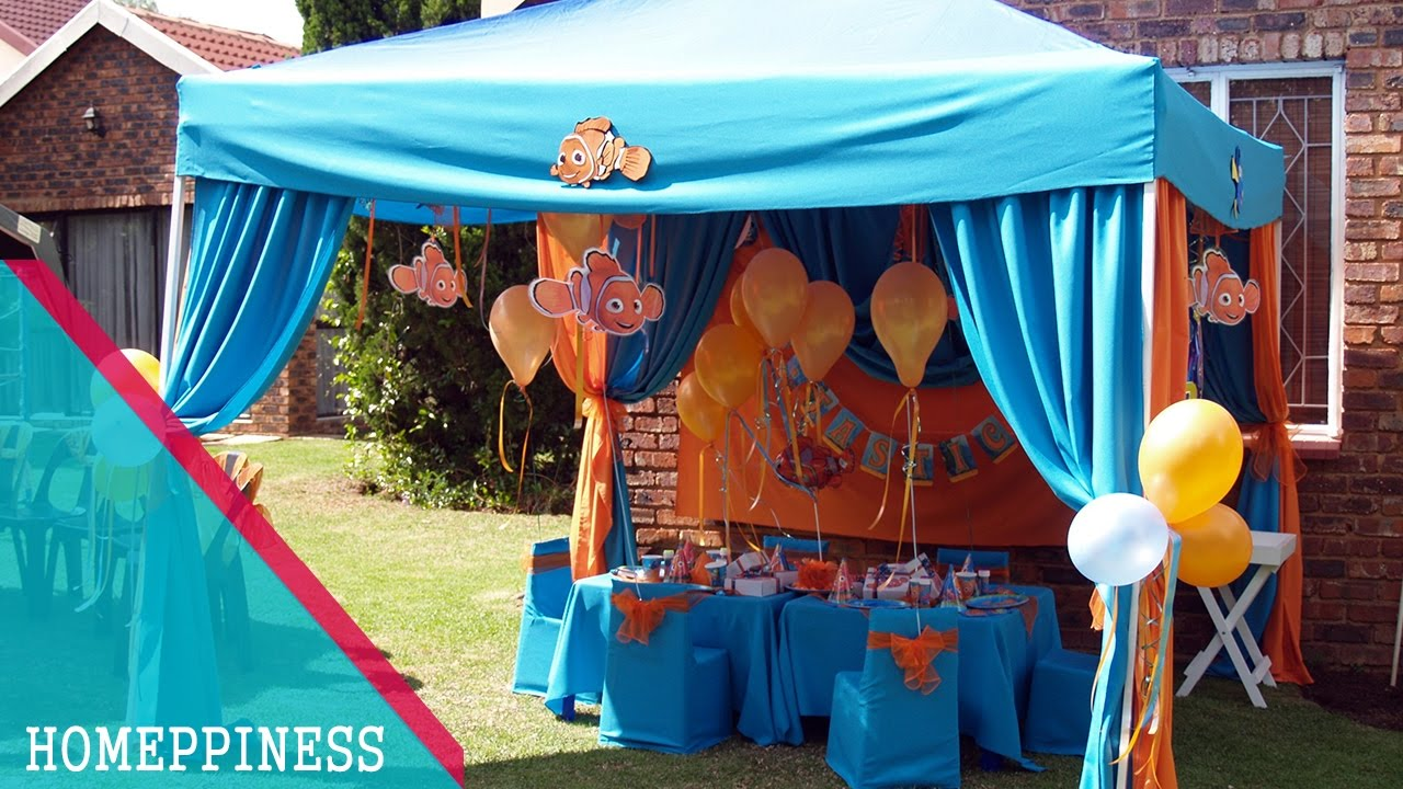 Must look 50 awesome outdoor birthday party for Outdoor party tent decorating ideas