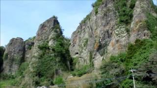 宇佐市安心院の仙の岩