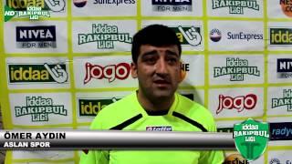 İddaa Rakipbul Antalya Ligi Ömer Aydın Aslan Spor Vs  Matador 07 BAasın Toplantısı