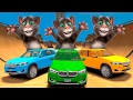 TALKING TOM CAT & COLOR BMW X5 CARS COLORS FOR CHILDREN