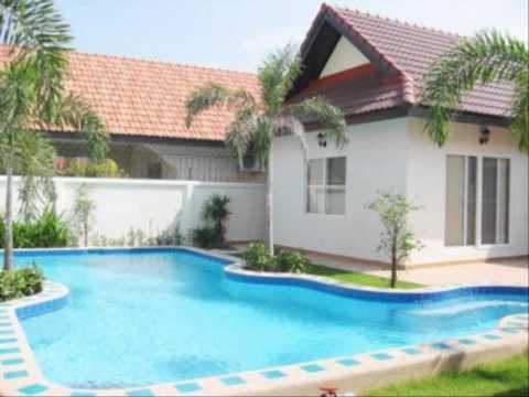 บ้านปูนชั้นเดียวราคาไม่เกินสองแสน แบบจัดสวนในบ้าน