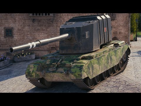 World of Tanks FV4005 Stage II - 5 Kills 12,5K Damage