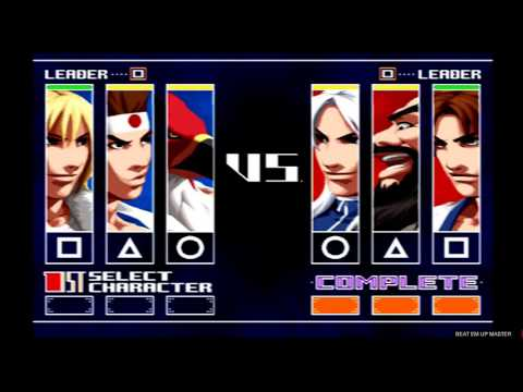 King of Fighters 2003 Terry, Tizoc und Joe Arcade PS2 Gameplay