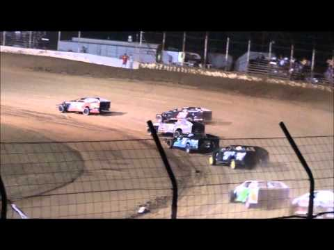 Modified B-Main From Portsmouth Raceway Park, 8/31/13.