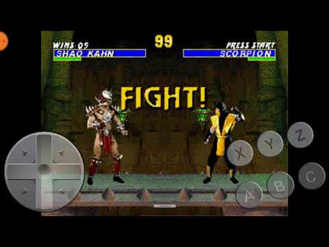 Ultimate mortal kombat Trilogy shao Kahn mk 2 gameplay final