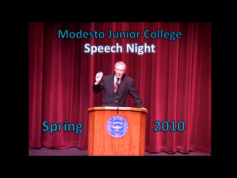 Modesto Junior College Speech Night : Spring 2010