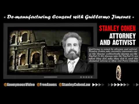 -= Anonymous =- Stanley Cohen podcast Traces of Reality - FreeAnons