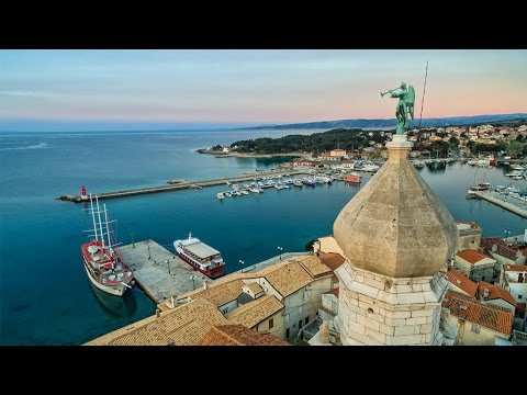 Krk Croatia Aerial view in 4K - Impressions with a DJI Phantom 3 drone