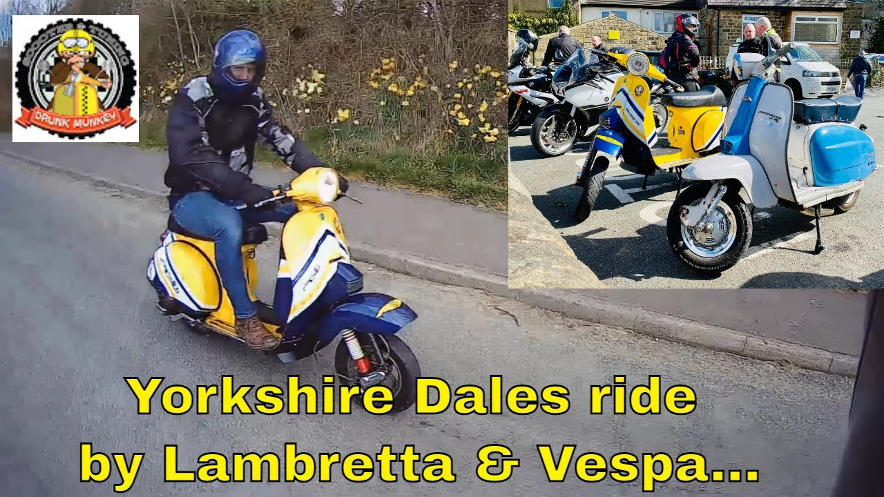 The Yorkshire Dales by Lambretta & Vespa - a steady pootle around God's Country on our scooters...
