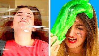 14 حيلة مضحكة مقالب وخدع(تقدروا تعملوها بنفسكم)