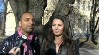 Exclusive interview with AySel \u0026 Arash. (AZE 2009)