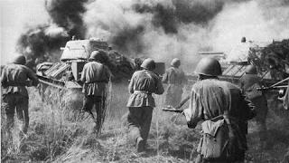 Курская битва . Одно из крупнейших сражений Второй Мировой войны.
