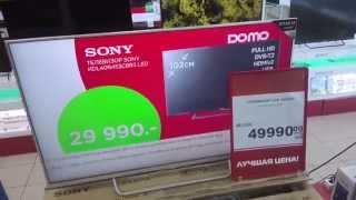 жК телевизор, LED подсветка Sony KDL 43W756C
