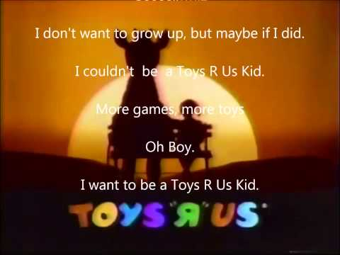 Lyrics To Toys R Us Theme Song Youtube