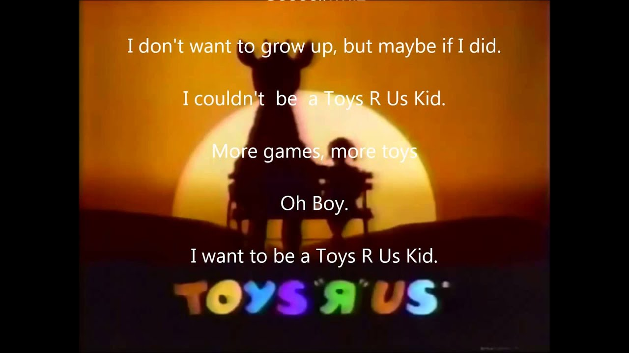 Toy R Us Theme Song 1980 Hd Youtube