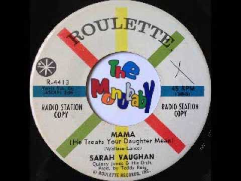 Sarah Vaughan One Mint Julep