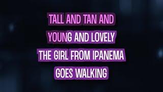 The Girl From Ipanema (Karaoke Version) - Amy Winehouse | TracksPlanet
