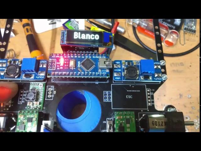 RobochallengeMx Avatar, Prueba de hardware para Seguidor de Línea