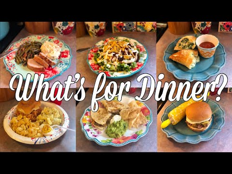 What's For Dinner?  Easy & Budget Friendly Family Meal Ideas  July 1-7, 2019