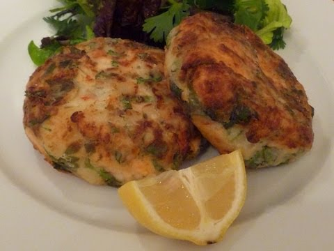 Spicy Salmon Fish Cakes Cook-Along Video Part 2