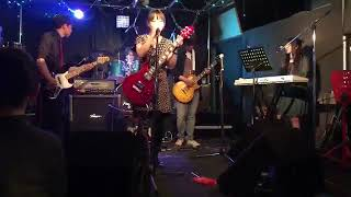 2018.05.20 ☆GIvE AppLE's☆1stライブ in Vinnie'sBAR 5.群青日和 なん...