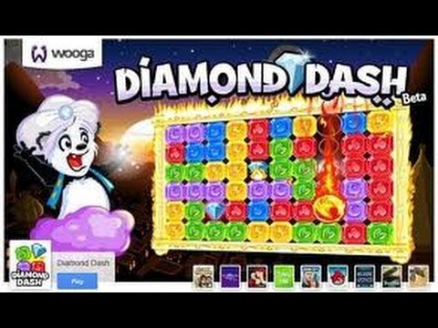 TOP FREE APPLE & ANDROID GAME DIAMOND DASH REVIEW